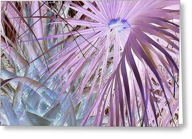 Blue Light Special Greeting Card