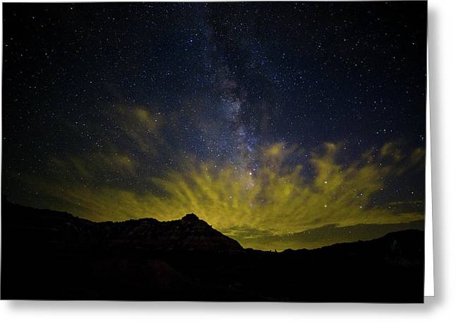 Palo Duro Nights Greeting Card by Stephen Stookey