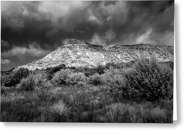 Palo Duro Terrain Greeting Card by James Barber