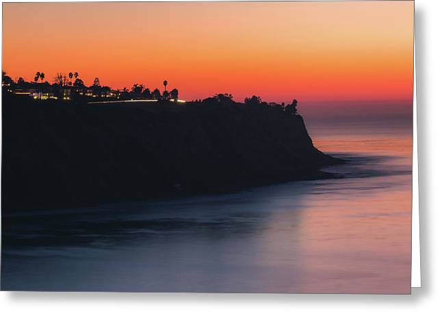 Palos Verdes Coast After Sunset Greeting Card