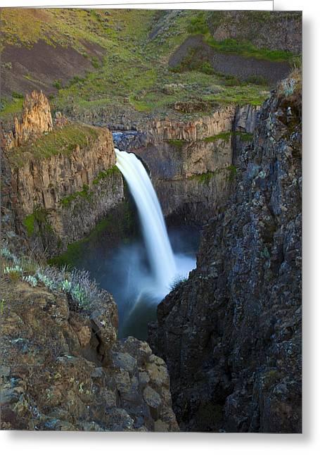 Palouse Falls Greeting Card by Mike  Dawson
