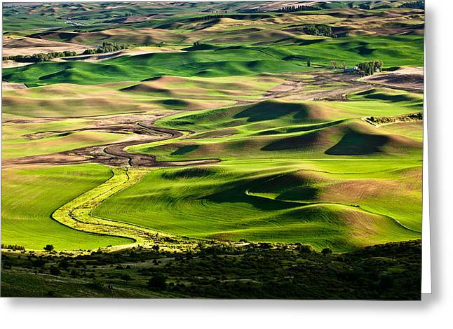 Palouse Hills 2 Greeting Card
