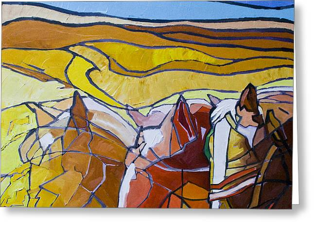 Palouse Trio Greeting Card by Gregg Caudell