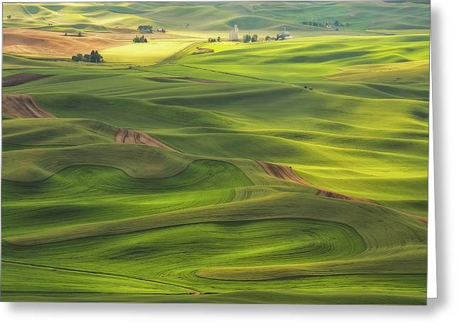 Palouse Views Greeting Card