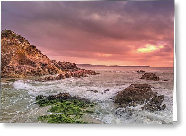 Pambula Rocks Greeting Card