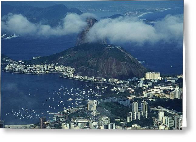 Pan De Azucar - Rio De Janeiro Greeting Card