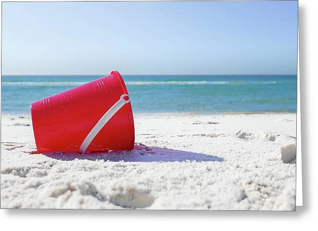 Panama Beach Florida Sandy Beach Greeting Card