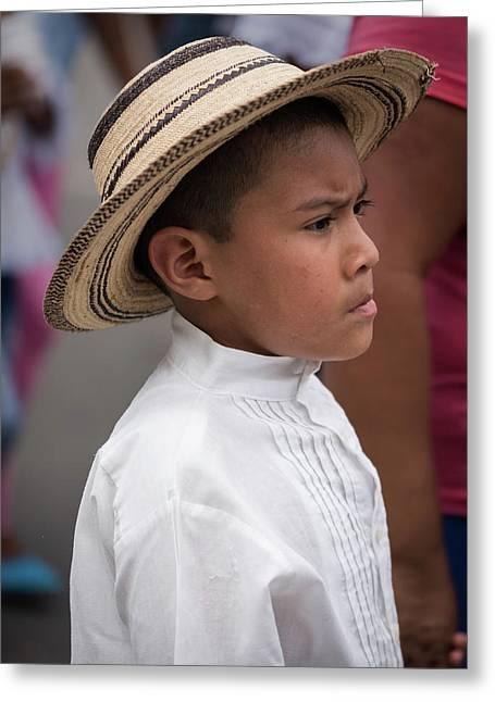 Panamanian Boy Greeting Card