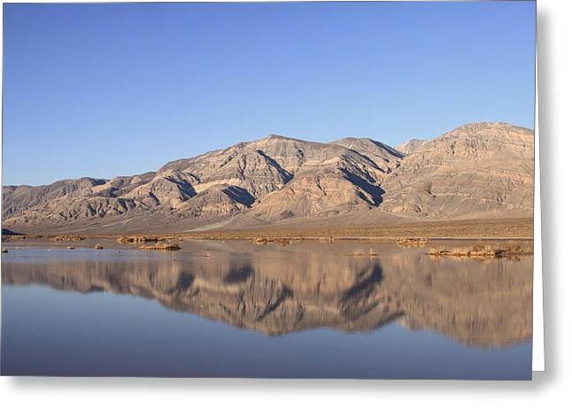 Panamint Valley Greeting Cards - Panamint Bluff Greeting Card by Troy Montemayor