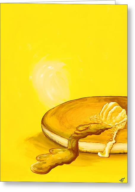 Pancake Greeting Card