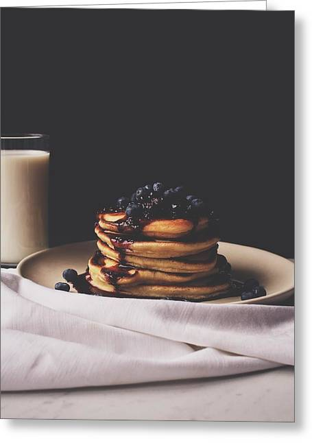 Pancakes For Breakfast Greeting Card by Happy Home Artistry