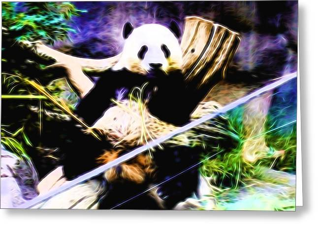 Panda Bear 1 Greeting Card