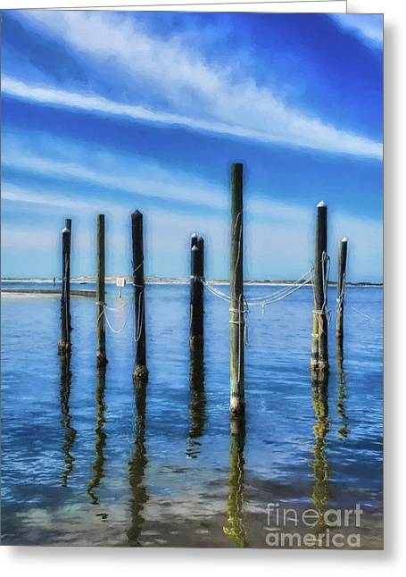 Panhandle Poles # 2 Greeting Card by Mel Steinhauer