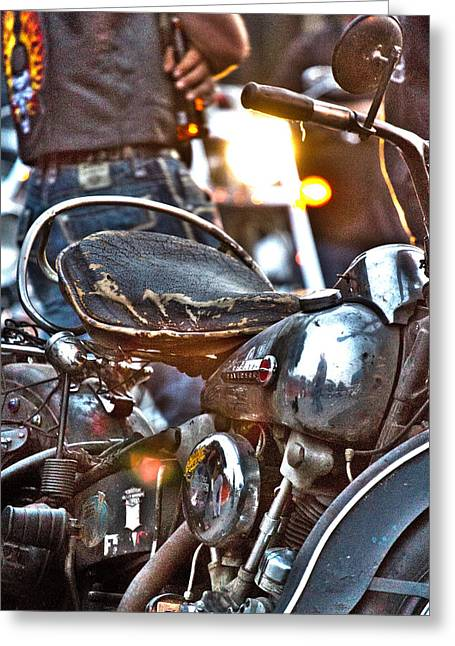 002 - Panhead Greeting Card