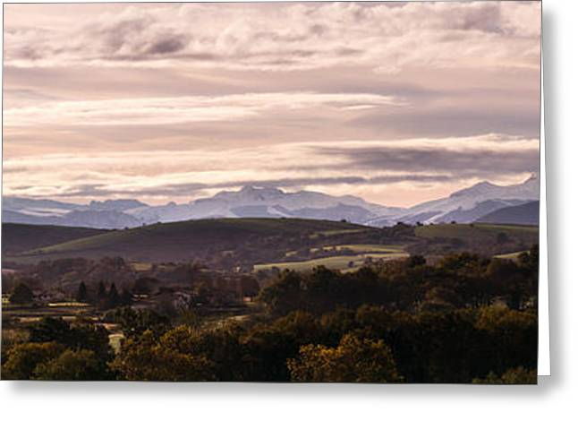 Panorama Greeting Card by Francoise Dugourd-Caput