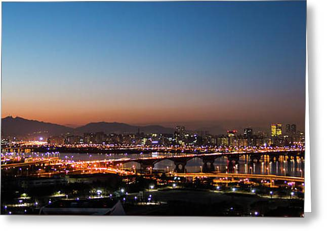 Panorama  Greeting Card by Hyuntae Kim