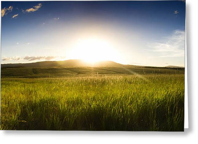 Panorama Landscape Greeting Card by Jorgo Photography - Wall Art Gallery