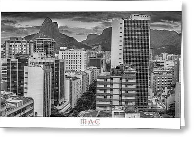 Panorama Leblon - Rio De Janeiro Greeting Card