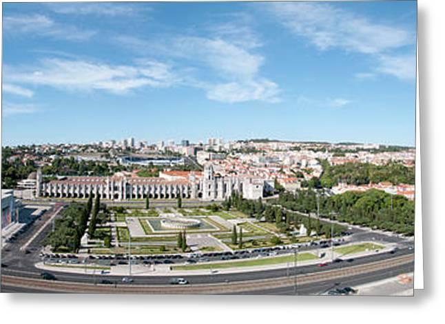 Panorama Of Lisbon Greeting Card