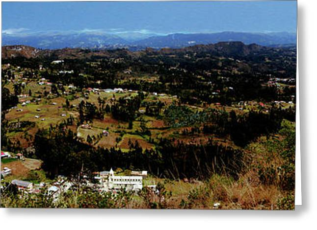 Panorama Of Pachamama Iv Greeting Card