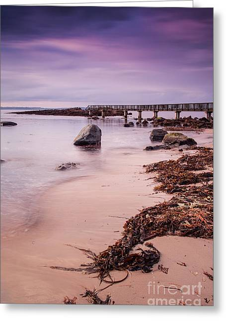 Pans Rocks Beach Greeting Card