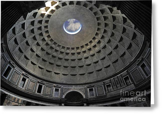 Pantheon Greeting Cards - Pantheon Greeting Card by Alessandro Matarazzo