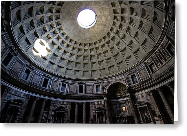 Greeting Card featuring the photograph Pantheon by Nicklas Gustafsson