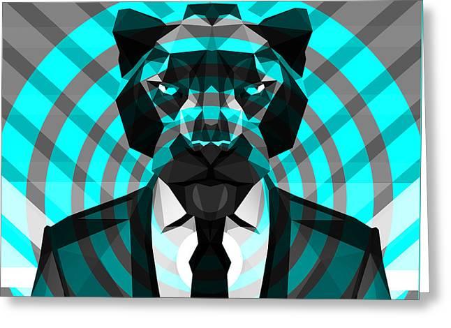 Panther 3 Greeting Card