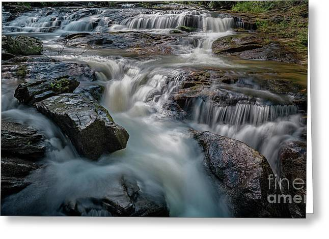 Panther Creek Upper Falls Greeting Card