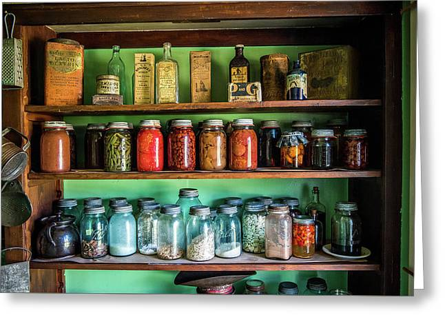 Greeting Card featuring the photograph Pantry by Paul Freidlund