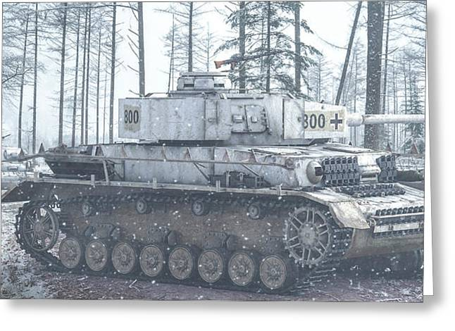 Panzers Greeting Card