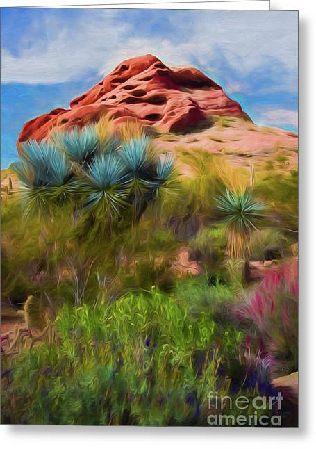 Papago Dreams Greeting Card