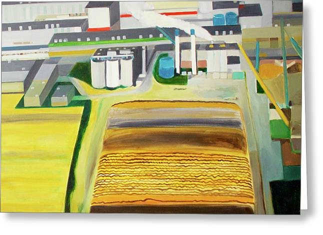Paper Factory Greeting Card by Toni Silber-Delerive