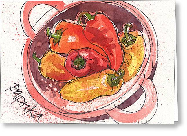 Paprika Greeting Card