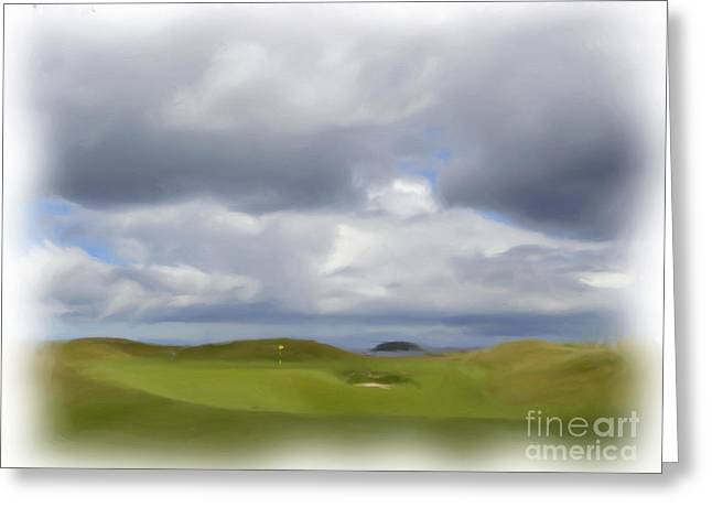 Par 3 Ireland Greeting Card