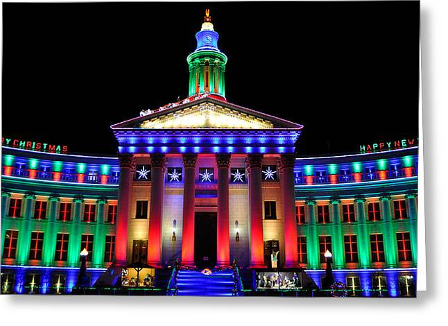 Parade Of Lights Origin Greeting Card by Kevin Munro