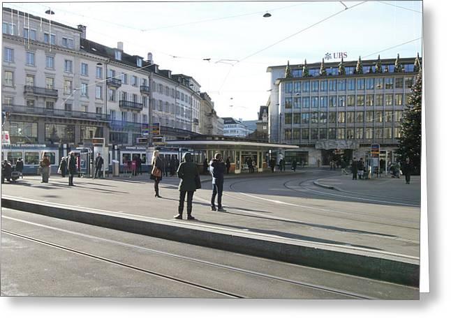 Photograph - Paradeplatz - Bahnhofstrasse, Zurich by Travel Pics