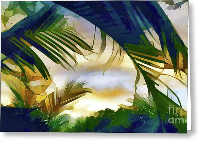 Paradise Greeting Card by Arnie Goldstein