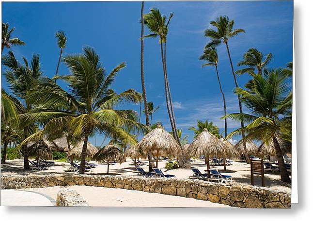 Paradise Beach Greeting Card