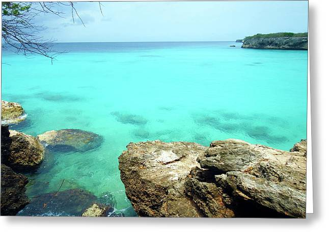 Greeting Card featuring the photograph Paradise Island, Curacao by Kurt Van Wagner