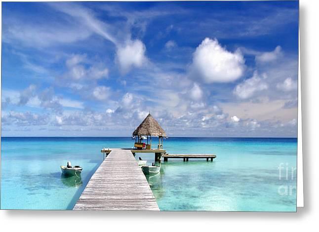 Paradise Pier Greeting Card