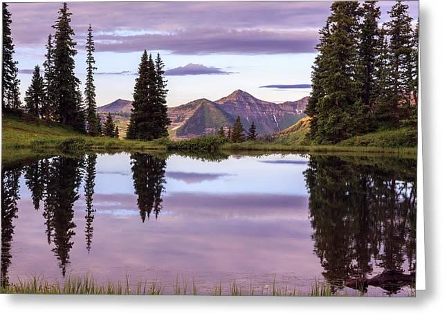 Paradise Reflection Greeting Card