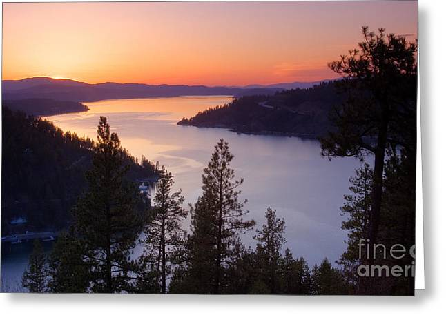 Paradise View Greeting Card by Idaho Scenic Images Linda Lantzy