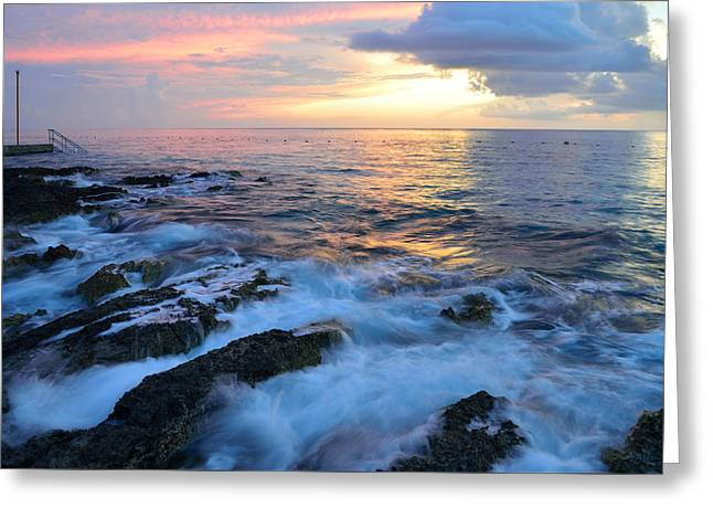 Paraiso Reef Greeting Card by Kathy Yates
