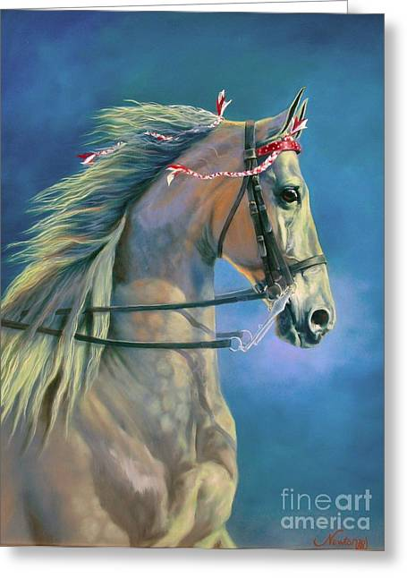 Paranormal Greeting Card by Jeanne Newton Schoborg