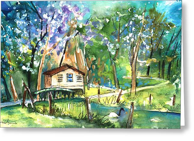 Parc Rochegude In Albi 01 Greeting Card by Miki De Goodaboom