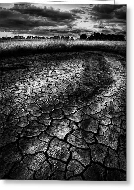 Parched Prairie Greeting Card