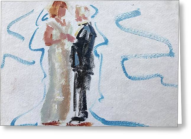 Parents Of The Bride Greeting Card