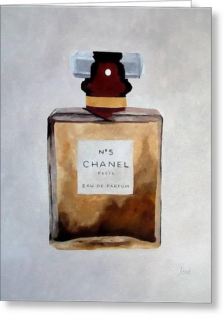 Parfum No.5 Greeting Card