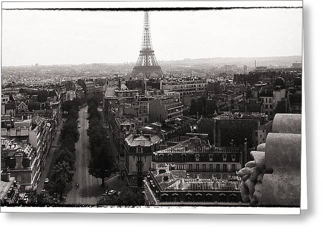 Paris 1966 Greeting Card